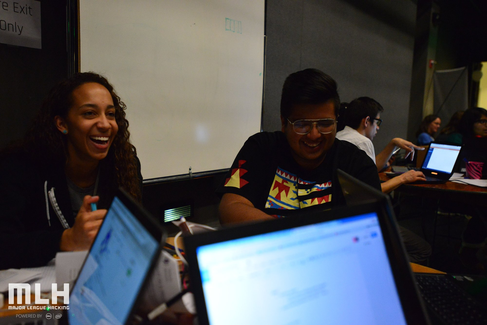 Photos of T9Hack participants and mentors.